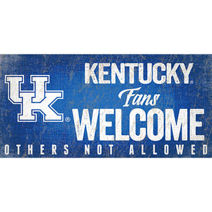 University of Kentucky Fans Welcome Sign