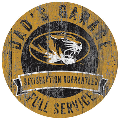 University of Missouri Dad's Garage Sign