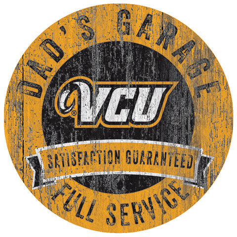 VCU Dad's Garage Sign
