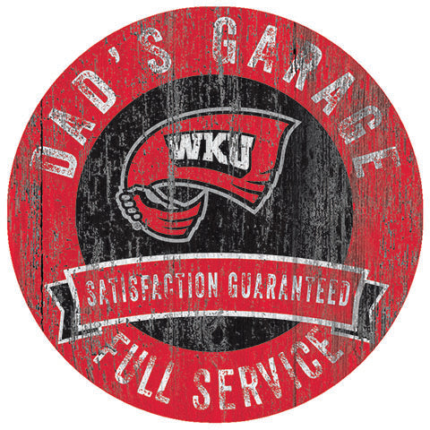 Western Kentucky Dad's Garage Sign