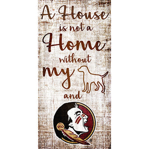 Florida State House is Not a Home 6 x 12 Sign