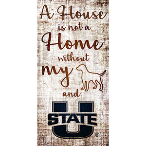 Utah State House is Not a Home 6 x 12 Sign