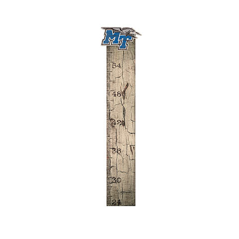 Middle Tennessee State Growth Chart Sign 6x36