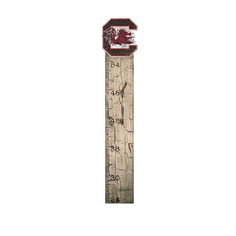 University of South Carolina Growth Chart Sign 6x36