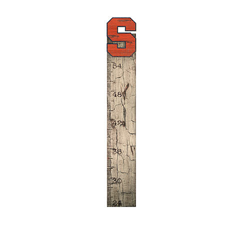 Syracuse Growth Chart Sign 6x36