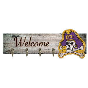 East Carolina Coat Hanger 6x24