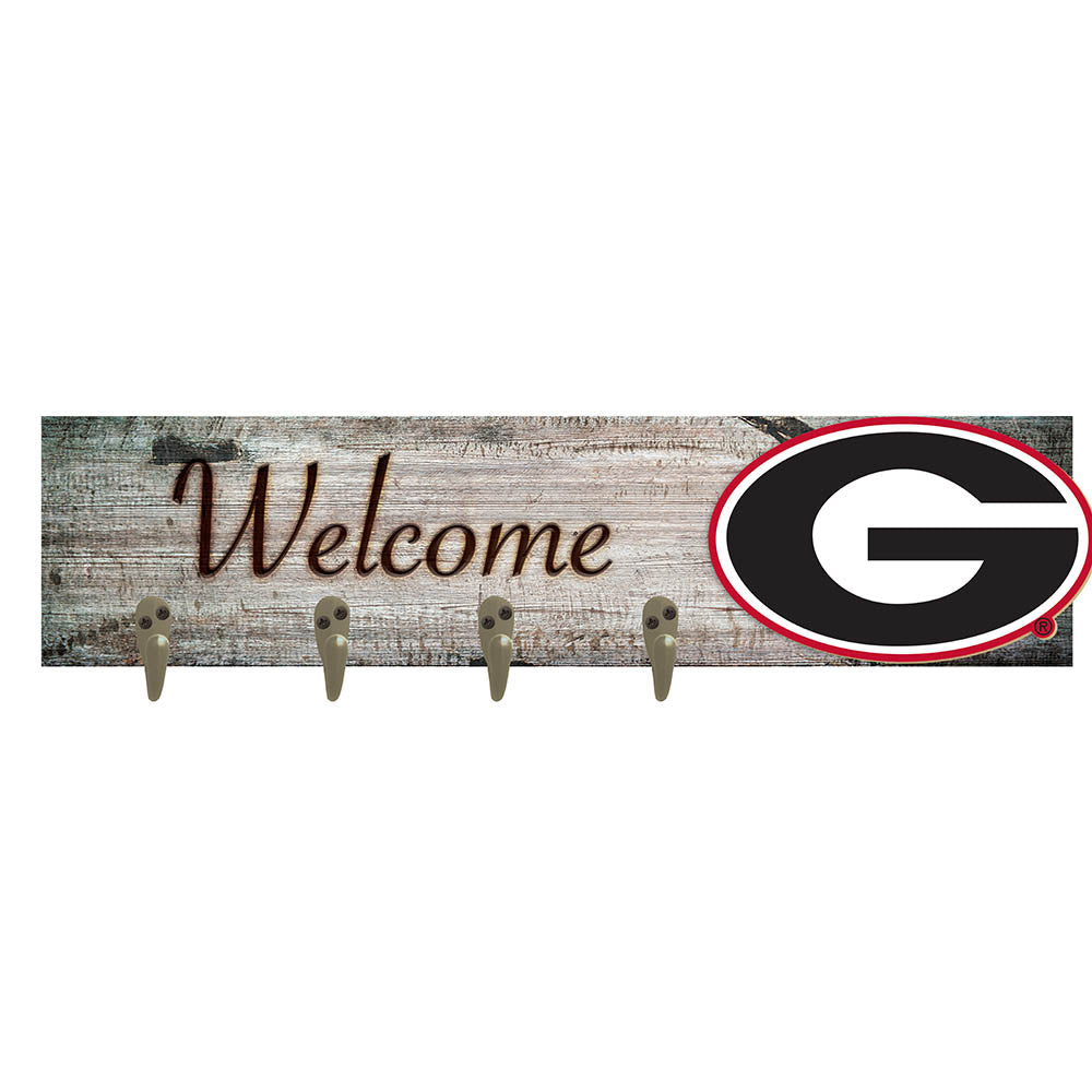 University of Georgia Coat Hanger 6x24