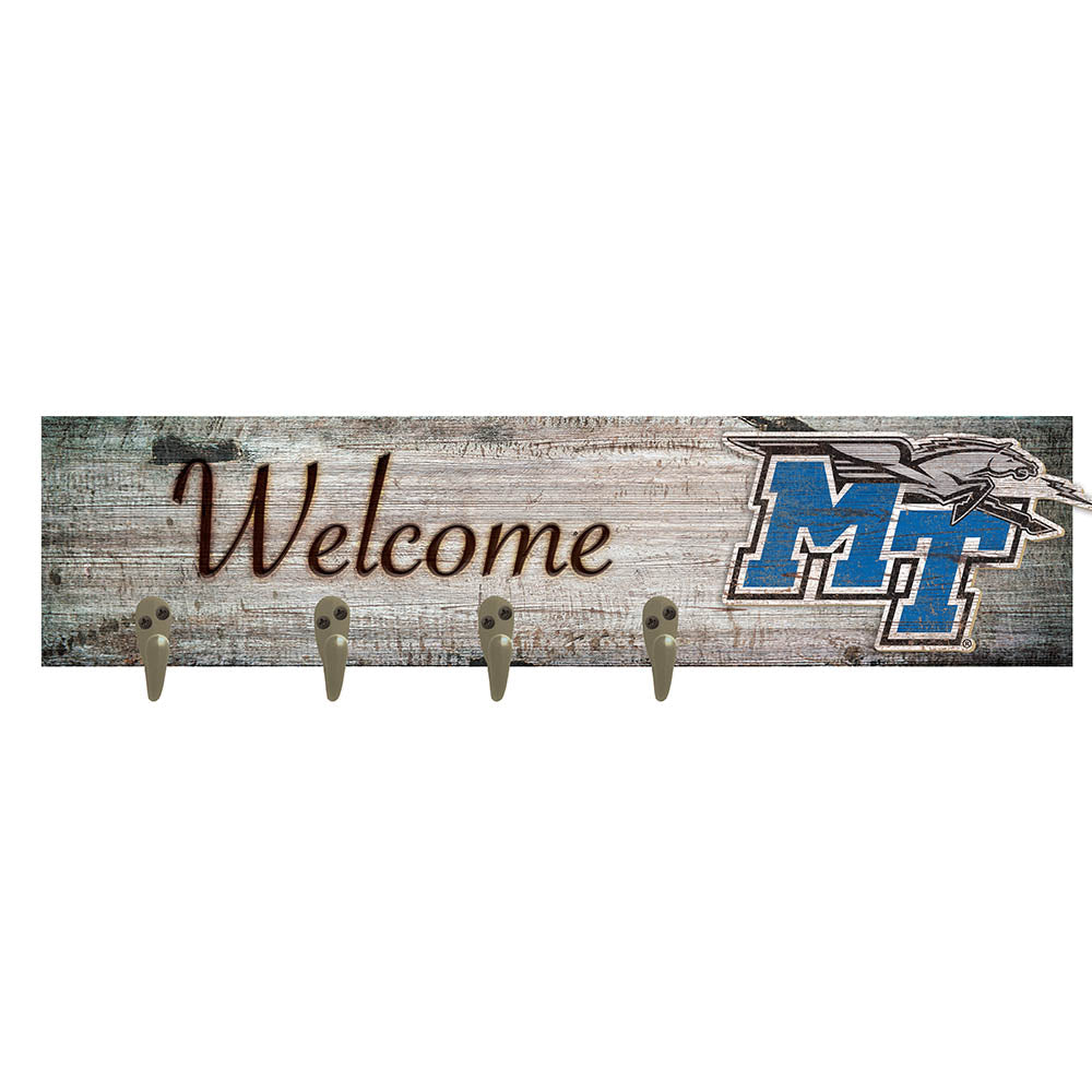 Middle Tennessee State Coat Hanger 6x24