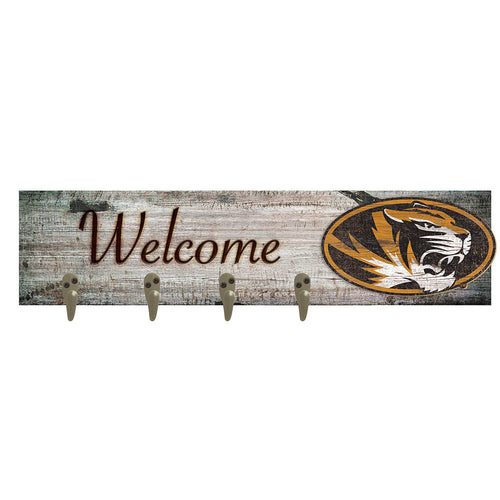 University of Missouri Coat Hanger 6x24