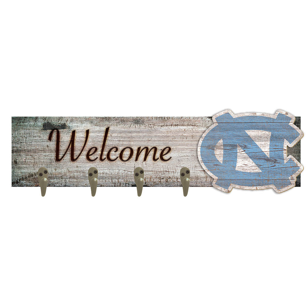 University of North Carolina Coat Hanger 6x24