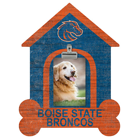 Boise State Dog Bone House Clip Frame