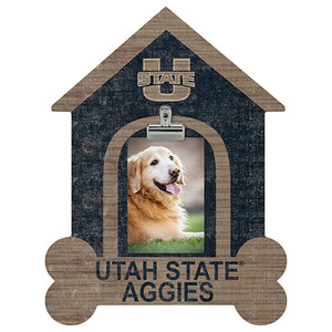 Utah State Dog Bone House Clip Frame