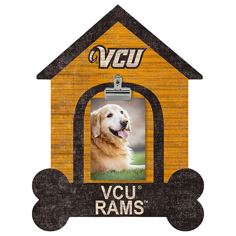 VCU Dog Bone House Clip Frame