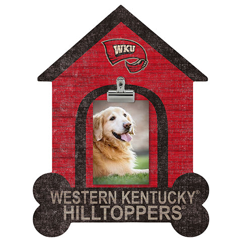 Western Kentucky Dog Bone House Clip Frame