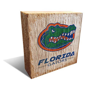 University of Florida Team Logo Block 6X6