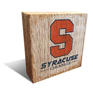 Syracuse  Team Logo Block 6X6