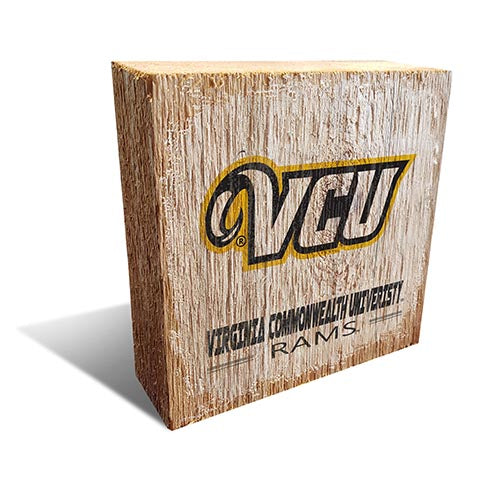 VCU  Team Logo Block 6X6