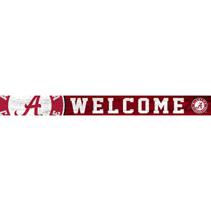 University of Alabama 16in. Welcome Strip