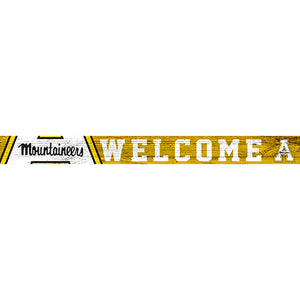 Appalachian State 16in. Welcome Strip