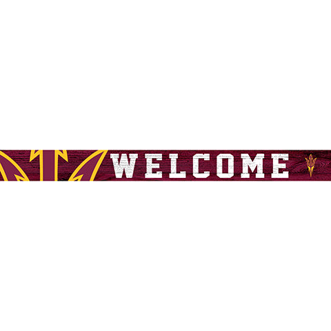 Arizona State 16in. Welcome Strip
