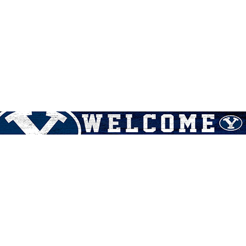 BYU 16in. Welcome Strip