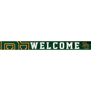 Baylor 16in. Welcome Strip