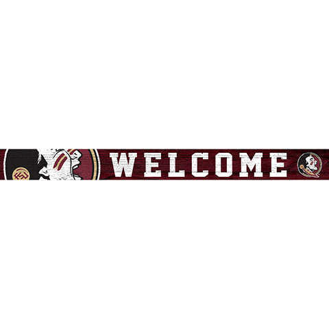 Florida State 16in. Welcome Strip