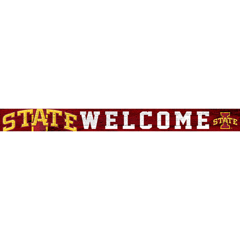 Iowa State 16in. Welcome Strip