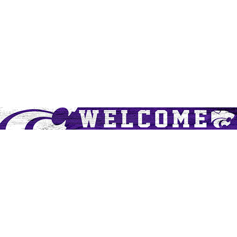 Kansas State 16in. Welcome Strip