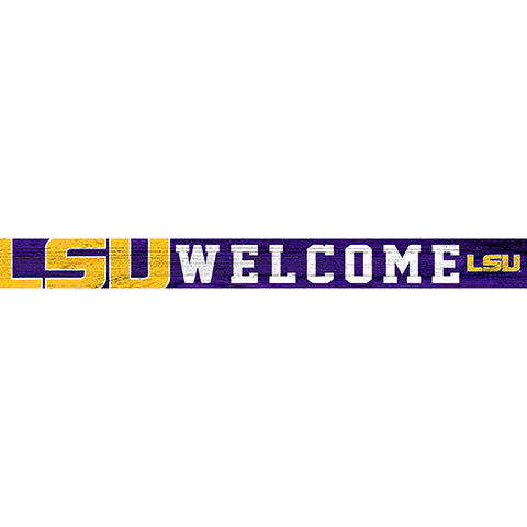LSU 16in. Welcome Strip