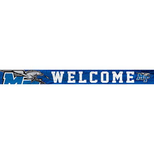 Middle Tennessee State 16in. Welcome Strip