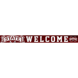 Mississippi State University 16in. Welcome Strip
