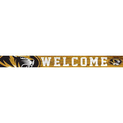 University of Missouri 16in. Welcome Strip
