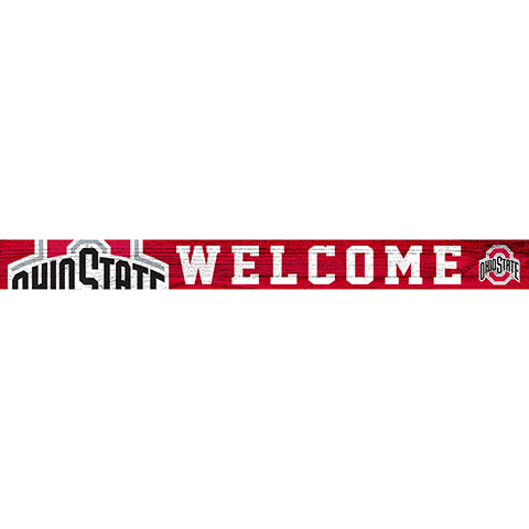 Ohio State University 16in. Welcome Strip
