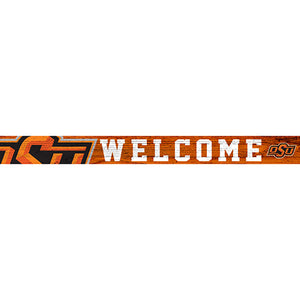 Oklahoma State 16in. Welcome Strip