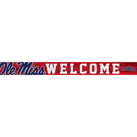 Ole Miss 16in. Welcome Strip