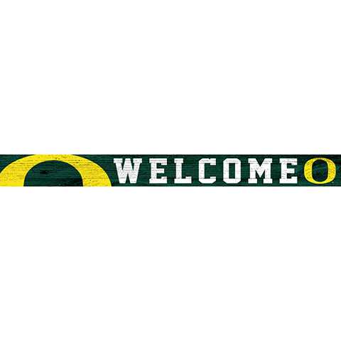 University of Oregon 16in. Welcome Strip