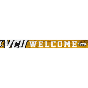 VCU 16in. Welcome Strip