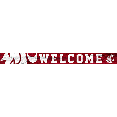 Washington State 16in. Welcome Strip