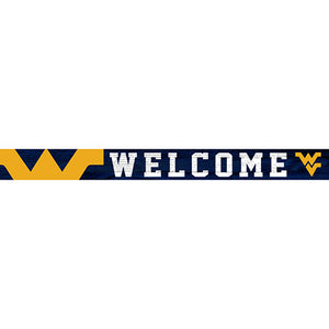 University of West Virginia 16in. Welcome Strip