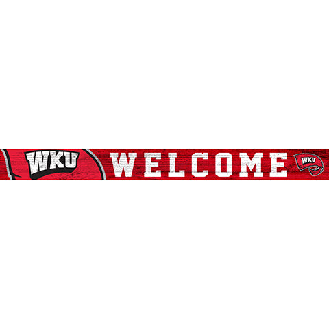 Western Kentucky 16in. Welcome Strip