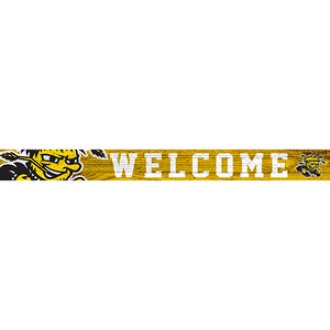 Wichita State 16in. Welcome Strip