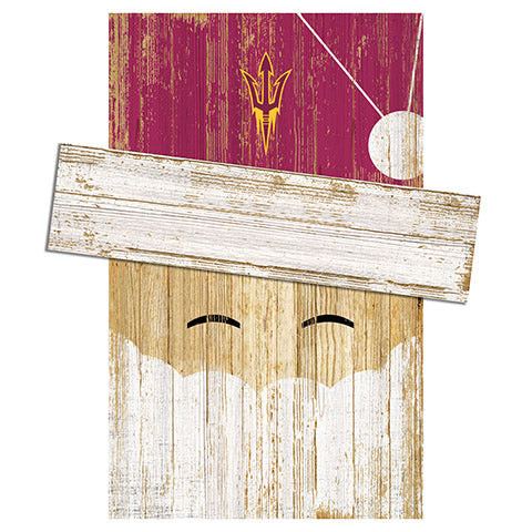 Arizona State Santa Head