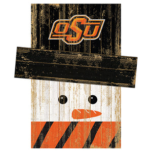Oklahoma State University Snowman Head