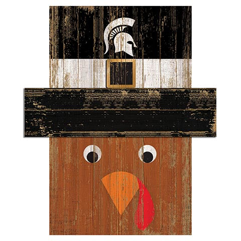 Michigan State University Turkey Head