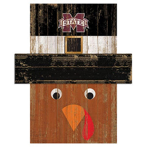 Mississippi State Turkey Head