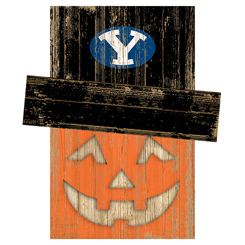 BYU Pumpkin Head w/Hat