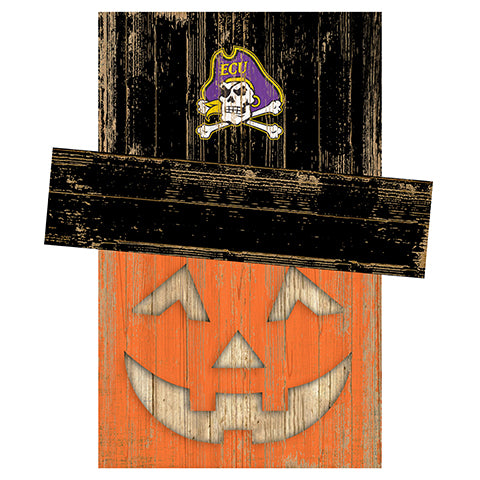 East Carolina Pumpkin Head w/Hat
