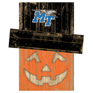 Middle Tennessee State Pumpkin Head w/Hat