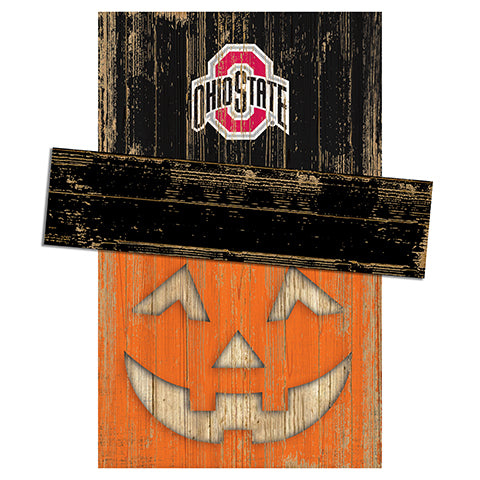 Ohio State University Pumpkin Head w/Hat